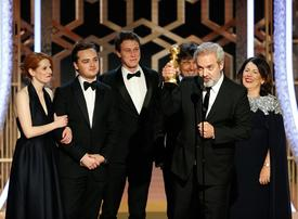 War film '1917' stuns Golden Globes as Tarantino bags comedy prizes