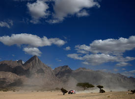 De Villiers wins Dakar second stage, Alonso loses wheel