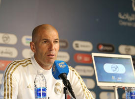 Real Madrid coach Zinedine Zidane focused on Spanish Super Cup in Riyadh