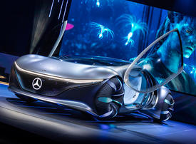 In pictures: Mercedes-Benz Vision AVTR concept car
