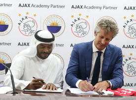 In pictures: Sharjah FC partnership with Dutch Ajax