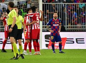 Athletico shock Barcelona to set up all-Madrid final in Saudi Arabia