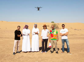 Dubai's Cafu to use drones to plant one million Ghaf trees in UAE