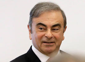 Nissan files $90m lawsuit against former chairman Carlos Ghosn