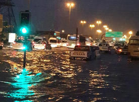 Video: The impact of rain in the UAE on construction