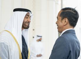In pictures: Mohamed bin Zayed receives Indonesian President