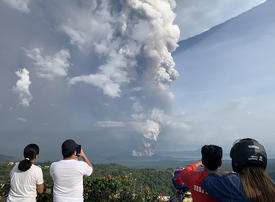 Threat of the Philippines' Taal volcano still high despite 'lull'