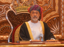 Oman's sultan names new foreign minister in government reshuffle