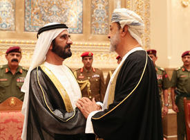 In pictures: UAE leaders offers condolences on death of Sultan Qaboos in Muscat