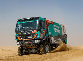 In pictures: Dakar stage 10 through the dunes of Saudi Arabia's Empty Quarter