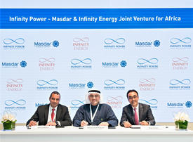 UAE's Masdar signs deal to develop African solar, wind energy projects
