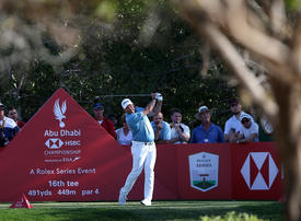 In pictures: Third day of the 2020 Abu Dhabi HSBC Championship