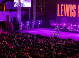 In pictures: Scottish singer Lewis Capaldi at the Al Majaz Amphitheatre in Sharjah