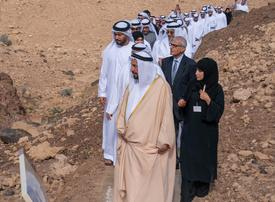 Sharjah ruler opens geology park in new eco-tourism push