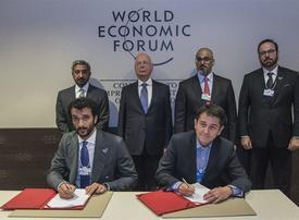 UAE gov't signs agreement to host key World Economic Forum summit
