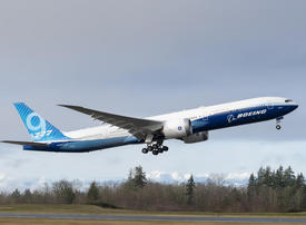 Boeing's new long-haul 777x touches down after maiden flight