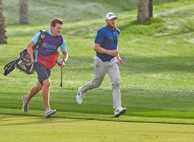 Sweden's Soderberg makes golfing history with speedy Dubai performance