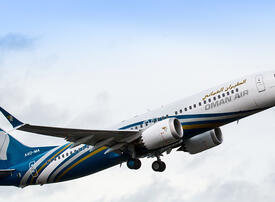 Oman Air has no plans to cancel 737 MAX orders, chasing Boeing compensation