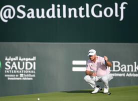 McDowall takes one-shot lead into final day of Saudi International