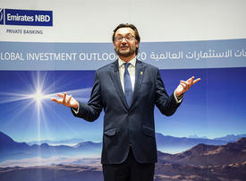 Investors should expect 'modest returns' in 2020, says Emirates NBD