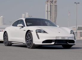 Video: World's first fully electric sports car comes to Dubai