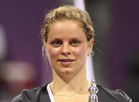Kim Clijsters says Dubai comeback down to inner 'feeling', and husband