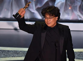 South Korean film 'Parasite' makes Oscars history with best picture win