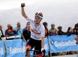 UAE Team Emirates' Pogacar secures Tour of Valencia victory