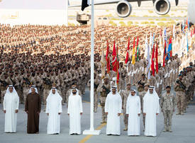 In pictures: UAE rulers honour soldiers returning from Yemen