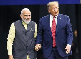 Tycoon and a tea-seller's son: Trump, Modi forge bonhomie