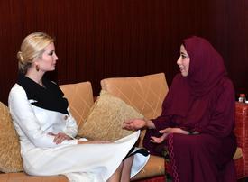 Ivanka Trump supports Emirati brand as she champions UAE female entrepreneurs