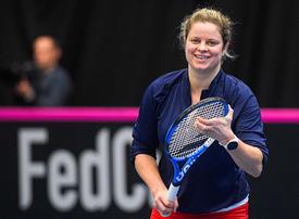 Kim Clijsters to face Garbine Muguruza on tough return in Dubai