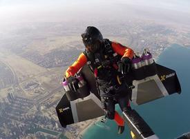 Watch: first autonomous human flight takes place in Dubai