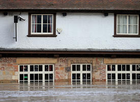 In pictures: Storm Dennis causes flooding in UK