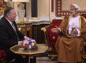 US Secretary of State Mike Pompeo meets new Sultan of Oman