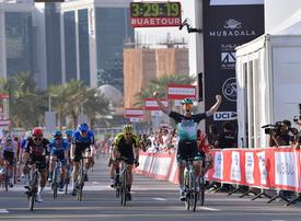 Froome happy with return as Ackermann sprints to UAE Tour opening stage win