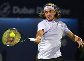 Tired Tsitsipas starts Dubai ATP week with a win