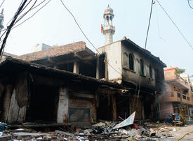 In pictures: Deadly sectarian riots kill 27 almost 200 injured in New Delhi