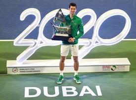 Novak Djokovic dominates Tsitsipas to win fifth Dubai trophy and 79th career title