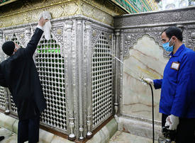 Iran urges people to stay home as virus claims 113 lives, raising total to 724