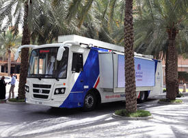 In pictures: Carrefour's mobile grocery bus in Dubai