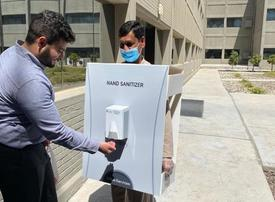 Saudi Aramco distances itself from 'human sanitiser' images