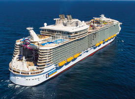 Video: How waste is dealt with on the world's largest cruise ship