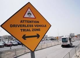 RTA begins autonomous vehicle trial at Expo 2020 Dubai site