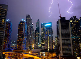 In pictures: Heavy rain hits Dubai and Abu Dhabi