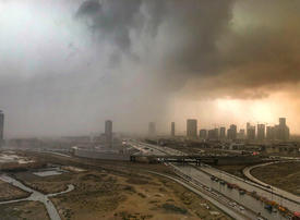 Rain, thunder and lightning forecast to hit the UAE from Friday
