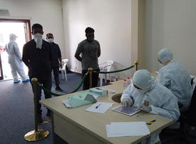 In pictures: Dubai's Naif area residents undergo Covid-19 tests
