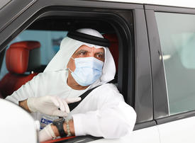 In pictures: Ras Al Khaimah Ruler opens drive-thru Covid-19 screening centre