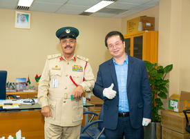Covid-19: Chinese firm donates 100,000 masks to Dubai Police