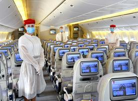 Emirates airline steps up safety measures on board and in airport